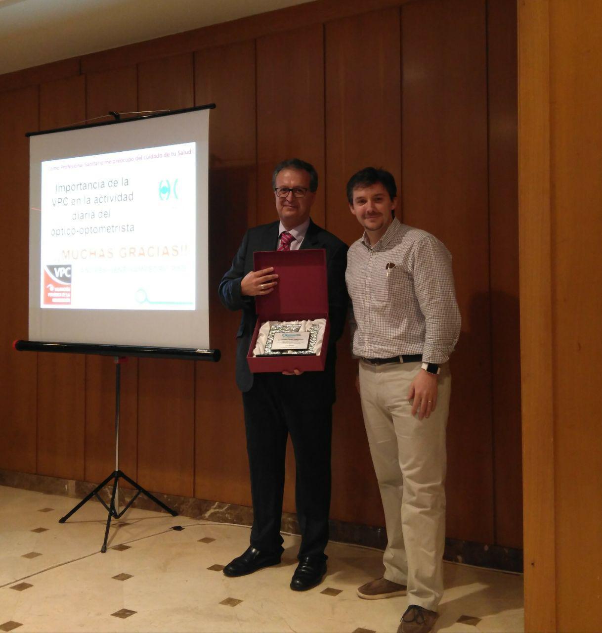 ANEOP nombra socios de honor a D. Andrés Gené y D. Alejandro Cerviño
